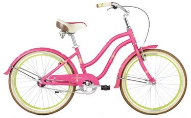 "Velosipēds LEGRAND Sanibel JR 24"" Pink Green 17"