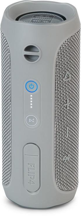 Bezvadu skaļrunis JBL Flip 4 Grey, 16 W