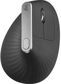 Datorpele Logitech MX Vertical Black, bezvadu, optiskā