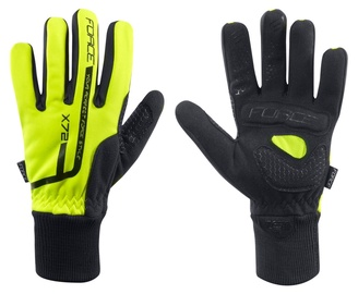 Force X72 Winter Full Gloves Yellow/Black M