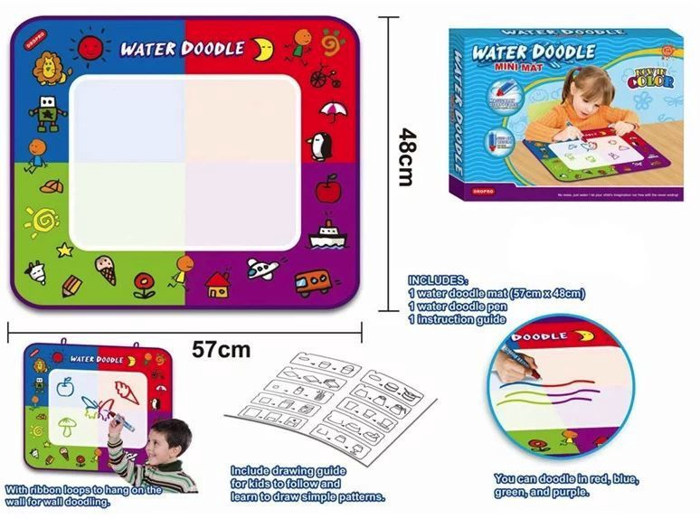 Коврик для рисования Dropro Water Doodle Mini Mat HM3802