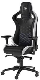 Spēļu krēsls Noblechairs Epic SK Gaming Edition, zila/balta/melna