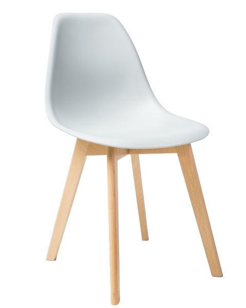 Ēdamistabas krēsls Signal Meble Moris Light Grey, 1 gab.