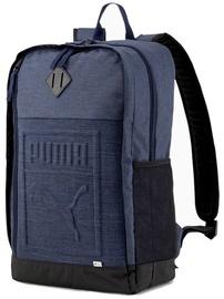 Puma S Backpack 075581 16 Navy Blue
