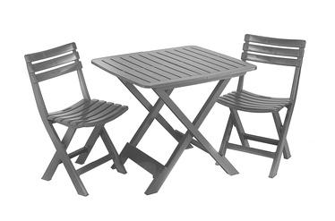 Комплект уличной мебели Camping SET Grey
