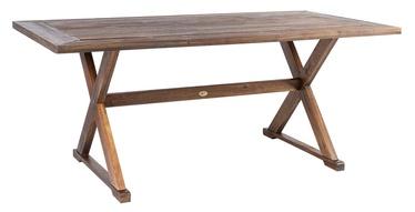 Dārza galds Home4you Farmer Brown, 180 x 95 x 76 cm