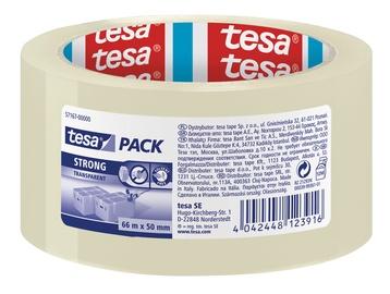 Līmlente Tesa Strong Packaging Tape 66m Transparent