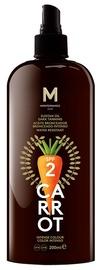 Mediterraneo Sun Carrot Sunscreen Dark Tanning Lotion SPF2 200ml