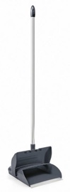 Mery Swing Dustpan With Handle 15×100×20cm Dark Grey