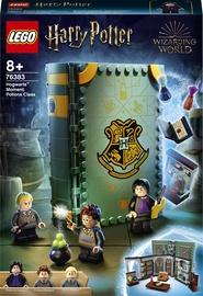 Konstruktors LEGO Harry Potter Mirklis Cūkkārpā: mikstūru stunda 76383, 271 gab.