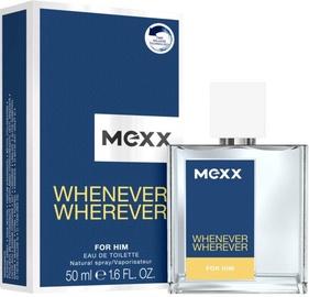 Tualetes ūdens Mexx Whenever Wherever, 50 ml EDT