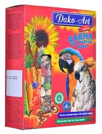 Sausa pārtika Dako-Art Complete Food For Large Parrots, lieliem papagaiļiem, 0.8 kg