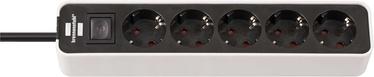 Brennenstuhl Ecolor Power Cord 5x 1.5m Black