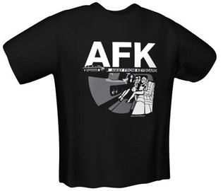 GamersWear AFK T-Shirt Black M