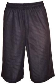 Bars Mens Basketball Shorts Dark Blue 33 158cm
