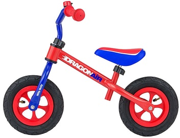 Velosipēds Milly Mally Dragon Air Balance Bike Red Blue 2794