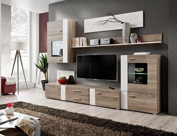 Dzīvojamās istabas mēbeļu komplekts ASM Aleppo Truffle Oak