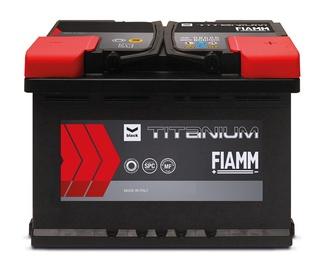 Аккумулятор Fiamm Black Titanium, 12 В, 55 Ач, 480 а