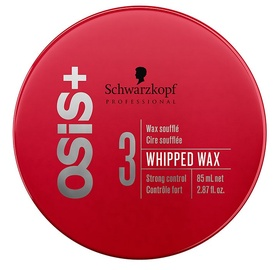 Matu vasks Schwarzkopf Osis + Whipped Wax, 85 ml