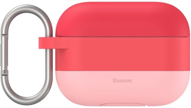 Baseus Silicon Gel Protective Case For Apple AirPods Pro Pink