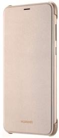 Huawei Original Book Flip Case For Huawei P Smart Gold