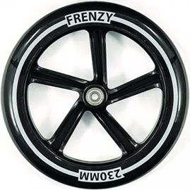 Frenzy FR551 Scooter Replacement Wheel Black