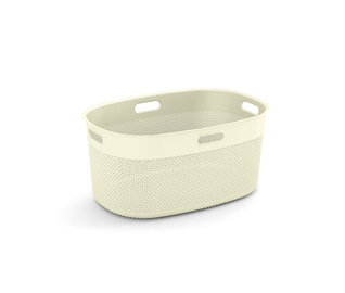 KIS Filo Laundry Oval Basket 45l White