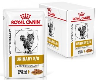 Mitrā kaķu barība (konservi) Royal Canin Veterinary Urinary S/O Loaf 12x85g