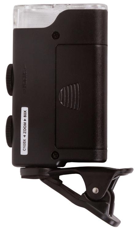 Levenhuk Zeno Cash ZC10 Pocket Microscope Black