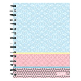 Herlitz Spiral Notepad A5/100p Pastels