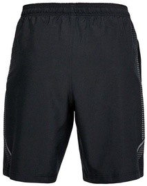 "Under Armour Shorts Woven Graphic 8"" 1309651-001 Black XS"