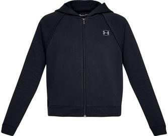Under Armour Rival Fleece Full-Zip Hoodie 1328836-001 Black XS