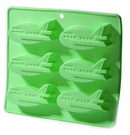 Fissman Cake Mold Plane 22x20x2.5cm 6 Cups Green