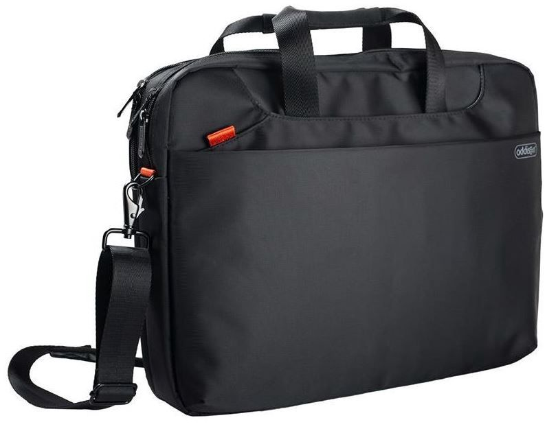 "Addison Notebook Bag for 15.6"" Black"