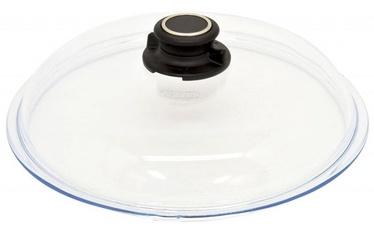 AMT Gastroguss Glass Lid With Knob Ventilation 26cm