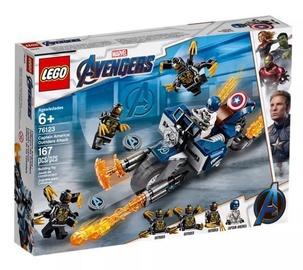 Konstruktors LEGO®Super Heroes 76123 Kapteinis Amerika: Pavadoņu uzbrukums