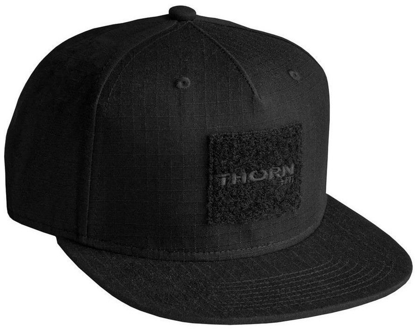 Thorn Fit Patch Snapback Cap Black