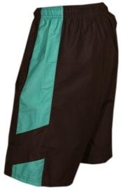 Bars Swimming Shorts Black/Blue 205 S