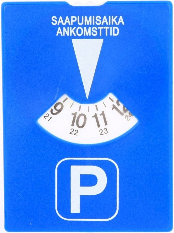 CarMan Parking Disc Blue