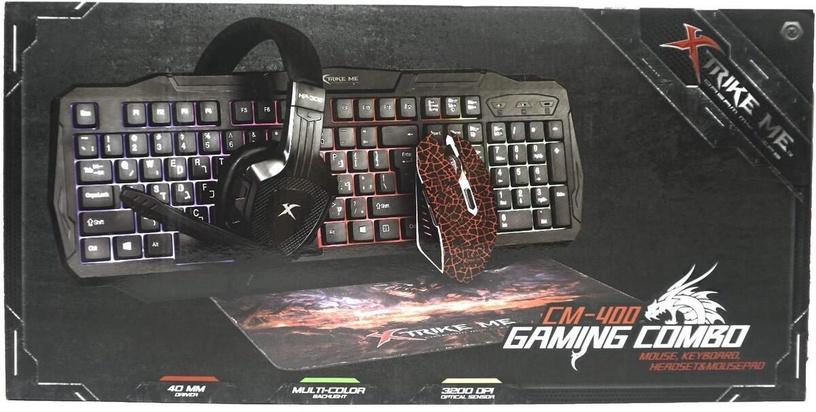 Xtrike Me CM400 Gaming Bundle EN