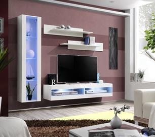 Dzīvojamās istabas mēbeļu komplekts ASM Fly R5 White
