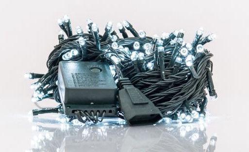 Elektriskā virtene EV LED 200, balta, 14 m