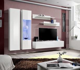 Dzīvojamās istabas mēbeļu komplekts ASM Fly A5 White