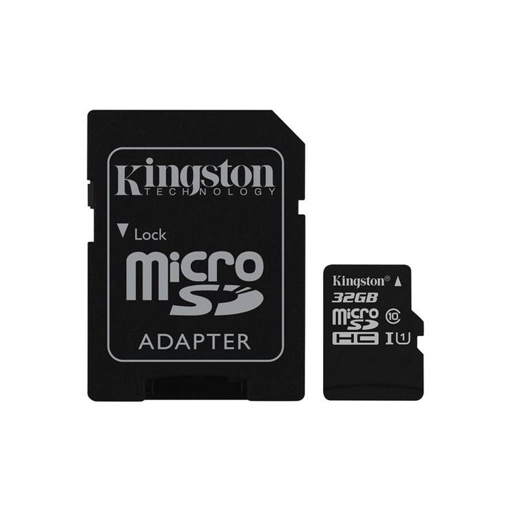 KARTE ATM. MICROSD 32GB C10 SDCS/32GB (KINGSTON)