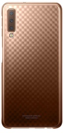 Samsung Gradation Cover For Samsung Galaxy A7 A750 Gold