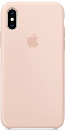 Apple Silicone Back Case For Apple iPhone XS Pink Sand