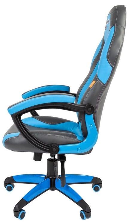 Игровое кресло Chairman Game 20 Grey/Blue