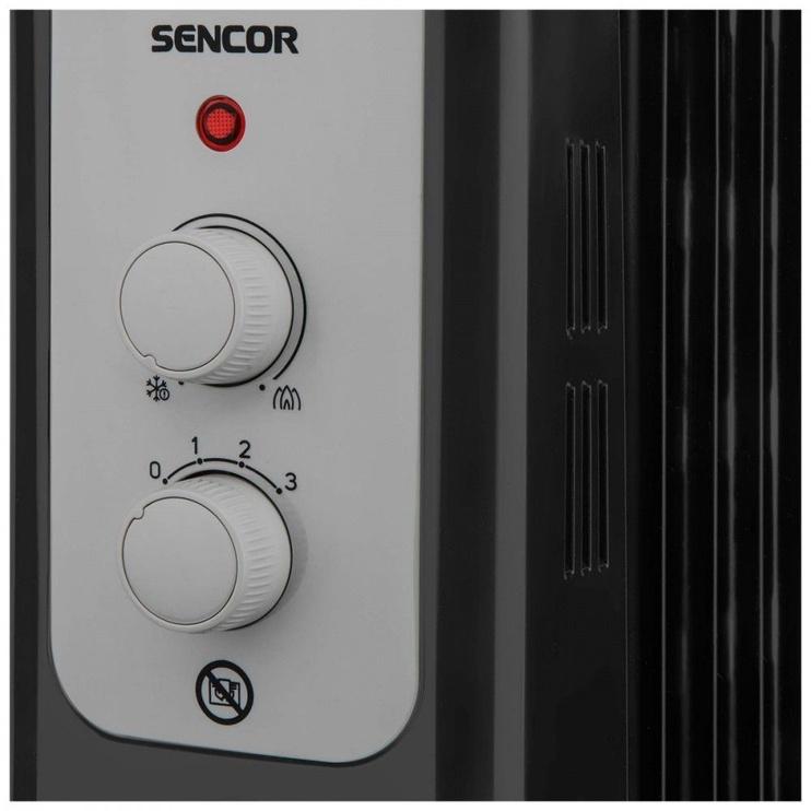 Eļļas sildītājs Sencor SOH 3307BK