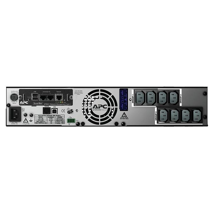 UPS sprieguma stabilizators APC Smart UPS X 1500VA SMX1500RMI2UNC