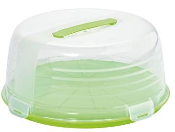 Curver Cake Transporting Box Round Green